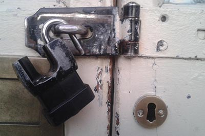 Unlocking A deadbolt